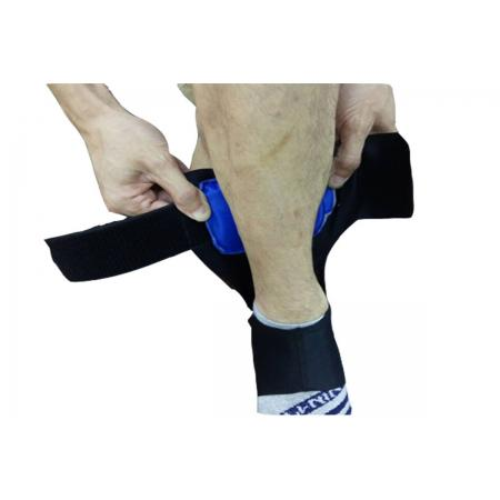 Foot ankle braces with air steps